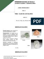Mineralogía II - Sesion 10