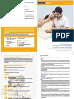 Increasing Income Insurance Plan Brochure 2019