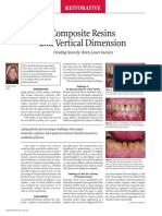 Treating Severely Worn Lower Incisors