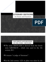 Kupdf.net Nature and Functions of Literary Criticism