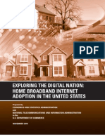 ESA NTIA US Broadband Adoption Report 11082010