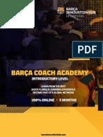 Barça Coach Academy Introductory Level