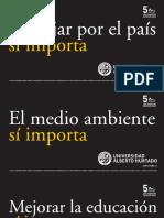 """""""La Universidad sí importa"""" / Campaña Metro de Santiago UAH"""