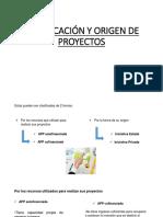 CLASIFICACIÓN Y ORIGEN DE PROYECTOS.pptx