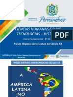 Países Hispano-Americanos No Século XX