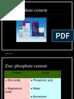 Zinc Phosphate Cement