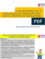 Selección de Materiales y ProcesosFabricación