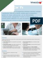SphygmoCor Px Datasheet DCN 100644 Rev 1-0 (Spanish)