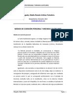 MEDIOS DE COERCIÓN PERSONAL Y MEDIDAS CAUTELARES