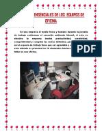 10 Partes Ensenciales de Los Equipos de Oficina