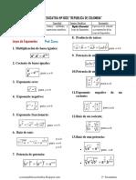 Teoria y Problemas de Leyes de Exponentes Ccesa007
