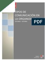 TIPOS DE COMUNICACIÓN - GRUPO N° 6  (1)