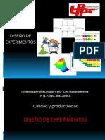 Diseño de Experimentos Presentacion Seminario