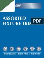 Assorted Fixure Trim Aluminium