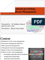 Educational Psychocology