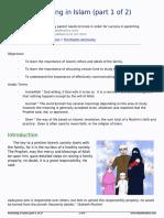parenting in islam