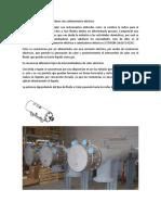 Descripción de Intercambiadores Con Calentamiento Eléctrico