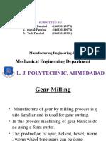 Gear Milling
