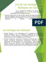 La Teoría de las Inteligencias Múltiples de Gardner.pptx
