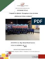 Informe Final de Responsabilidad Social-2019