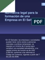 Normativa legal para la formación de una empresa