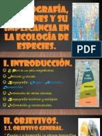 Biogeografía, Patrones y Su Implicancia en La