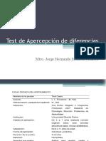 Test de Apercepción de Diferencias