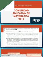 SOLUCIONARIOEVALUACION  DE NOMBRAMIENTO_2018