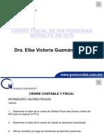 Cierre fiscal ISR 2018