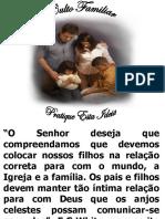 Palestra de Cultos Familiares Em Pp
