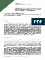 1984 Posibilidades y Limitaciones Headspace Dinamico