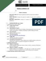 Producto Académico N° 01 (Entregable)