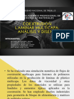 COESTRUSION DE LAMINAS MULTICAPAS