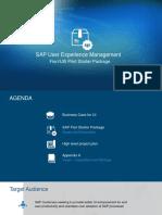 Sap Fiori Pilot Starter Management