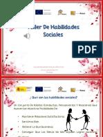 Taller Habilidades Sociales.