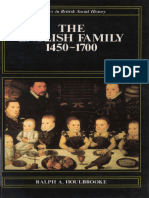 Ralph Anthony Houlbrooke -  The English Family , 1450 - 1700