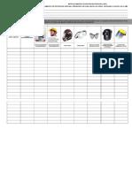Anexo B - Matriz Elementos de Protección Personal (EPP)