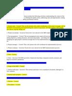 ISO9001 Practice Exam