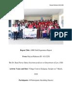 Adr Field Trip Report