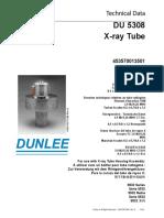 Dunlee Du5308 X-ray Tube