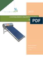 catalogo de calentadores solares