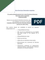 Custodios Clase B de Servicios Generales Requisitos