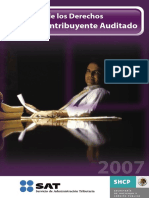 Carta de Los Derechos Del Contribuyente Auditado 2007