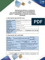 Guía de Actividades y Rúbrica de Evaluación - Fase 6 - Implementar La Solución Al Problema Planteado
