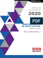 Edital Sesi Sp 2020