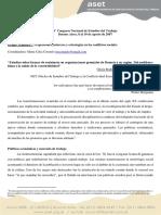 RODRIGUEZ Gloria - Estudios Sobre Formas de Resistencia en Organizaciones Gremiales de Rosario y Su Región. Del Neoliberalismo a La Salida de La Convertibilidad