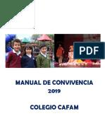 Manual de Convivencia Colegio Cafam