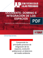 DOMINIO E INTEGRACION DE LOS ESPACIOS
