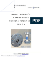 Manual Instalacion Mantenimiento Turbina Axial