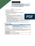 CAS 036 - Asistente Administrativo - SN